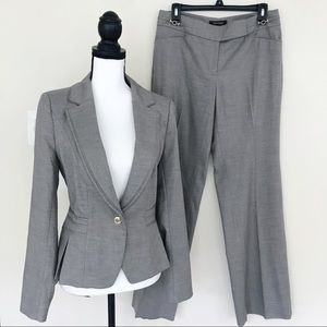 White House Black Market Taupe Pants Suit